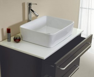 An Elegant Vessel Vanity is Functional and Beautiful in Your