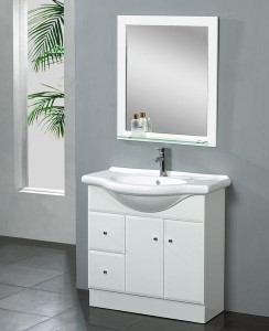 European Style Single Sink Vanity
