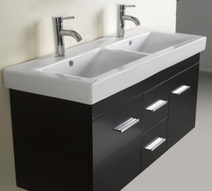 Perfect A Modern Dual Sink Vanity