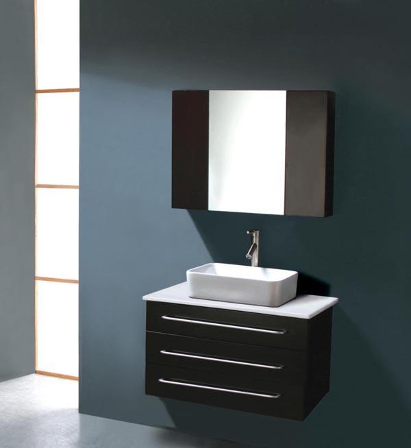 Elegant Modern Bath Vanities And Interior Design Bathroom Vanities - Ultra modern bathroom vanities