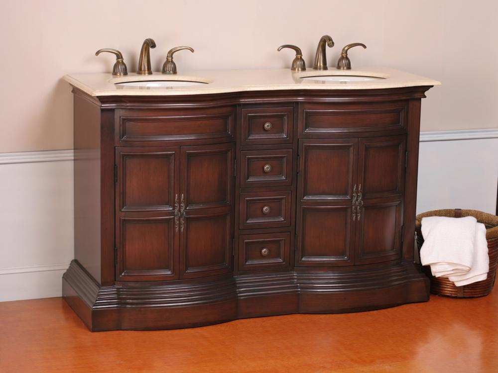 Inch Stone Counter Top Bathroom Vanity Lavatory Double Sink Cabinet Overall Dimensions W 72 D 22