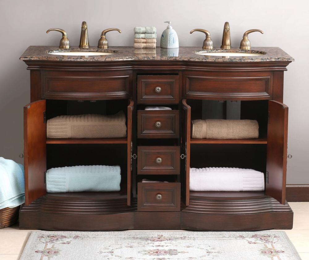 The Metz vanity features plenty of storage space