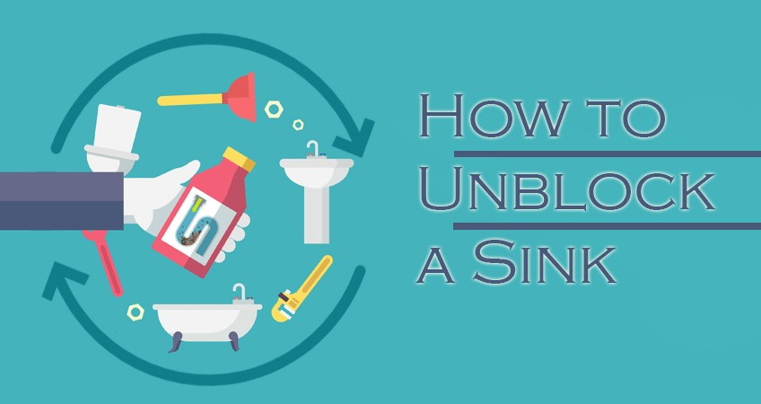 how to unblock a sink in 6 easy steps cleaning your bathroom