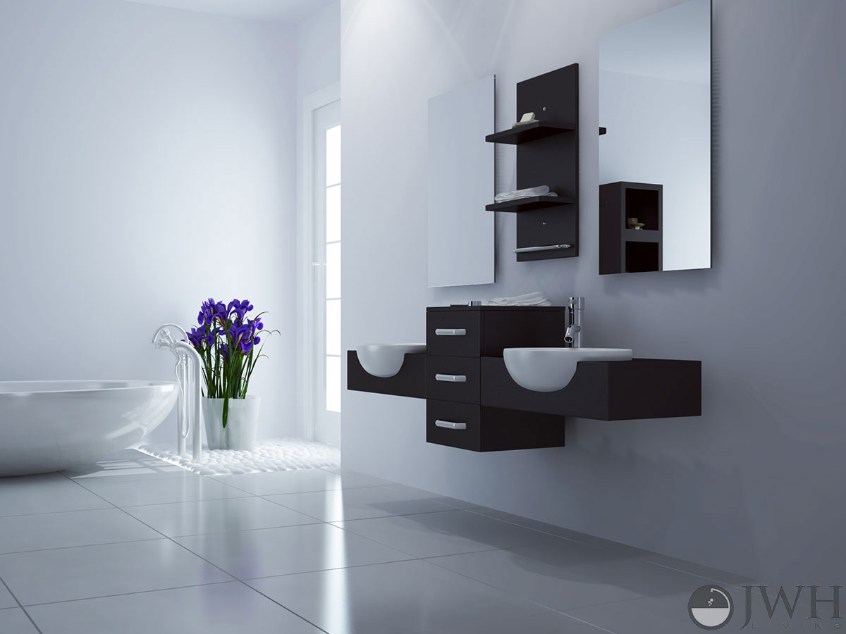 Hung Up On Style Why Wall Mounted Vanities Are More
