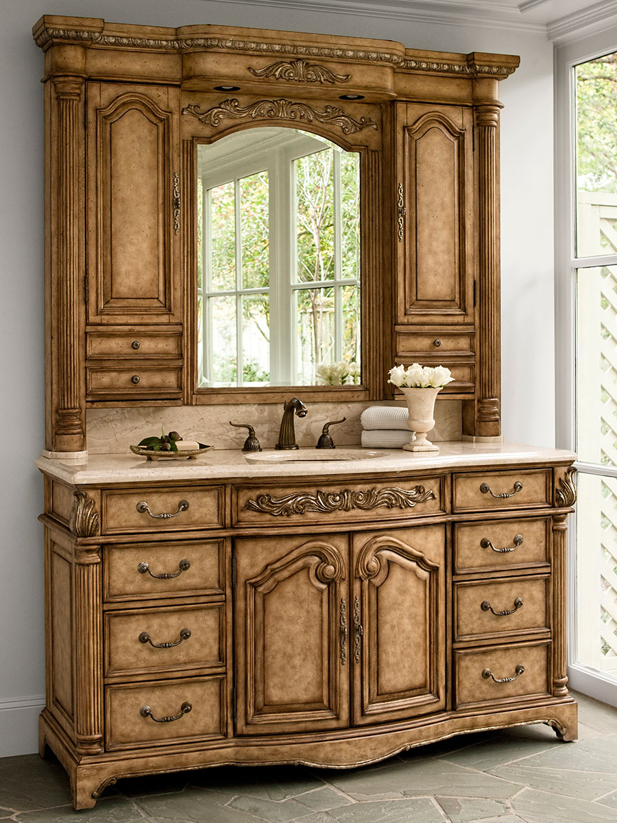 monticello single bath vanity
