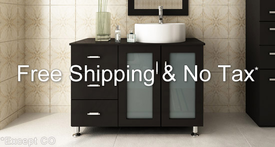 Modern Bathroom Vanities Vaughan modern bathroom vanities and bathroom cabinets with free shipping