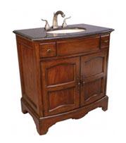 Cherry And Redwood Bathroom Vanities Bathgems Com