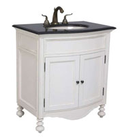 White Ivory Bathroom Vanities Bathgems Bathgemscom - Cheap white bathroom vanity