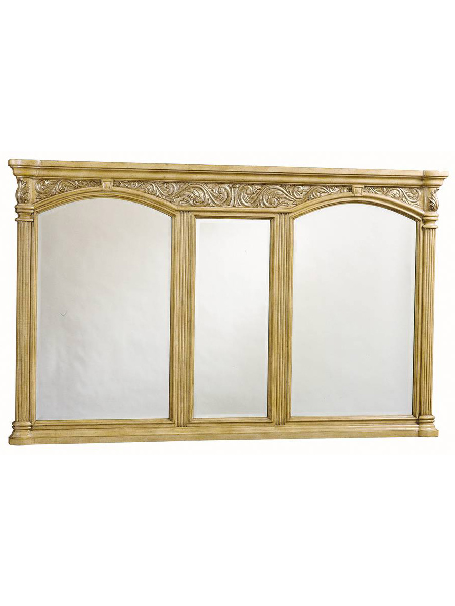 Provincial Grand Mirror in Light finish