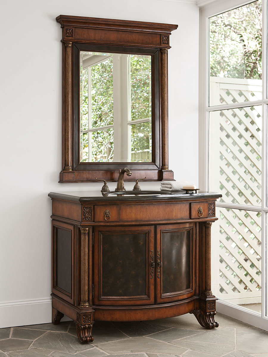 "42"" Empire Grand Single Bath Vanity with Optional Mirror"