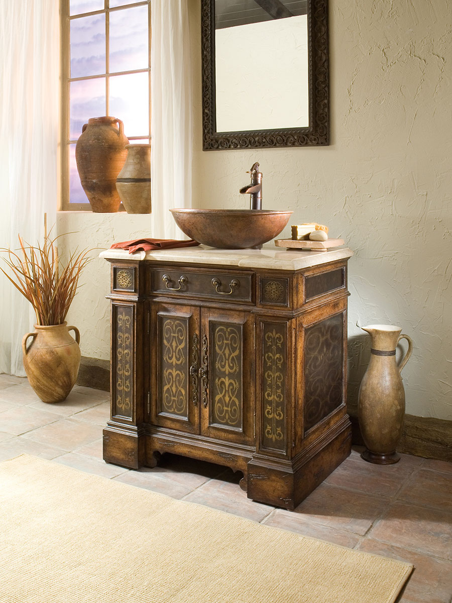 32 Quot Esperanza Single Vessel Sink Vanity Bathgems Com