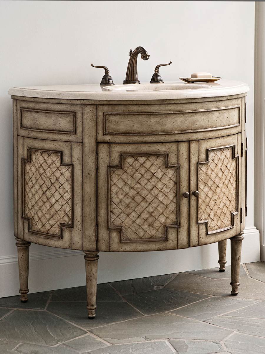 44 Patrician Capiz Shell Single Bath Vanity