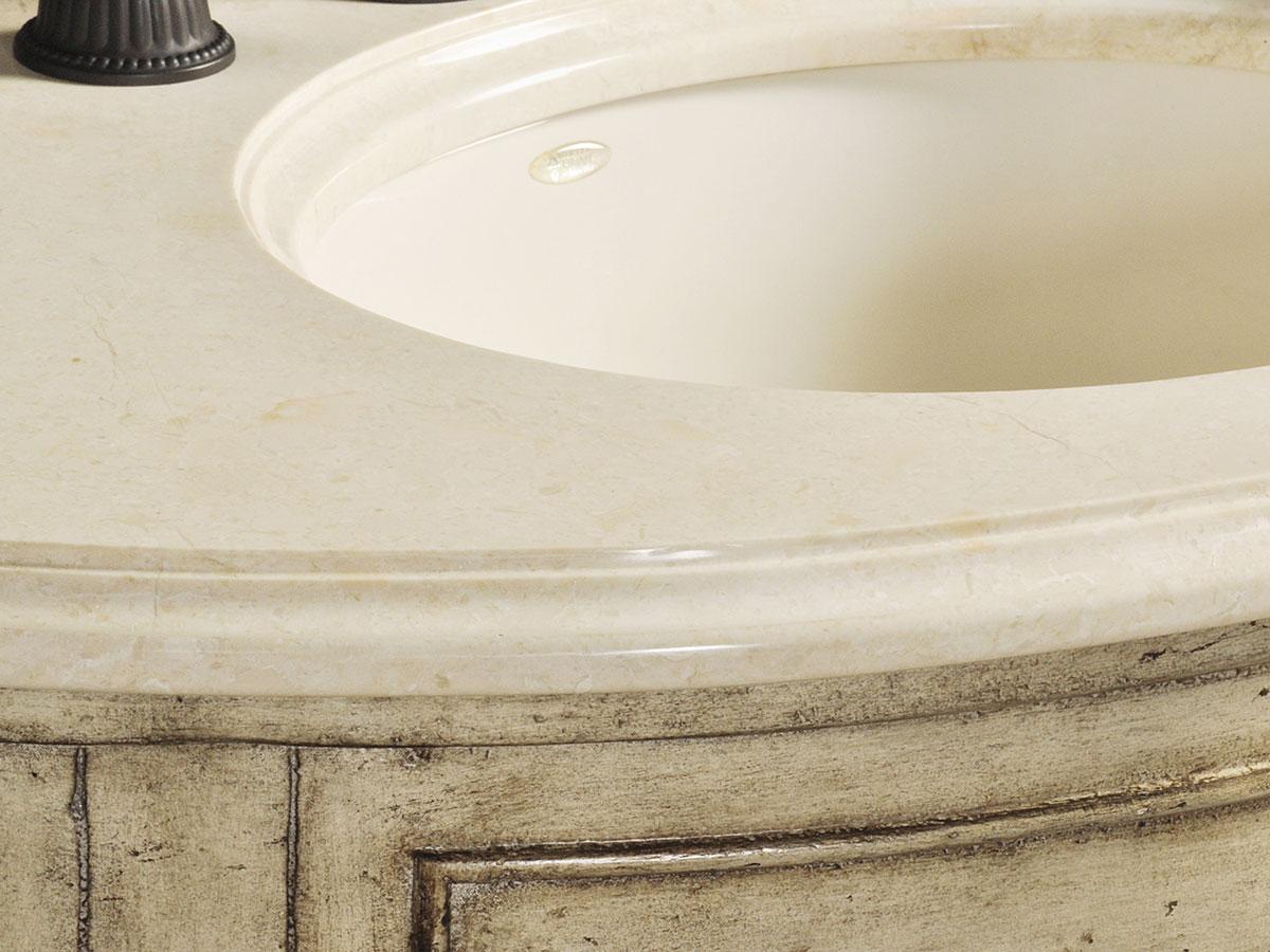 Ivory Cream Marble Top