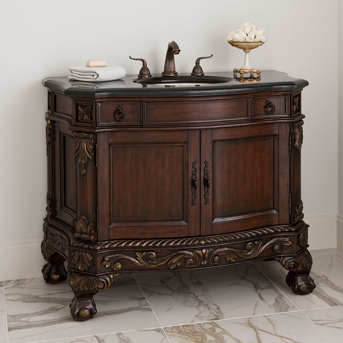 "47"" Ball & Claw Single Bath Vanity"