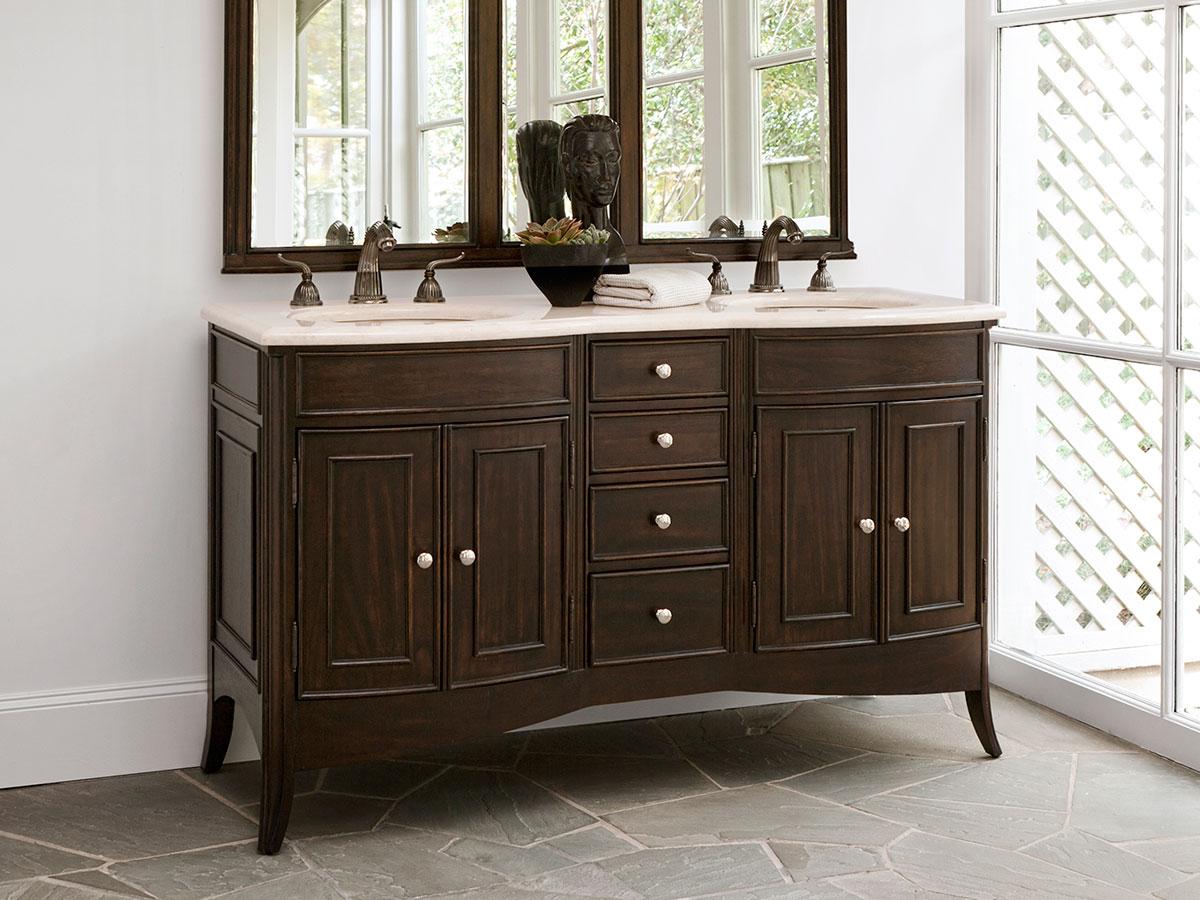 """60"""" Verona Double Sink Vanity"""