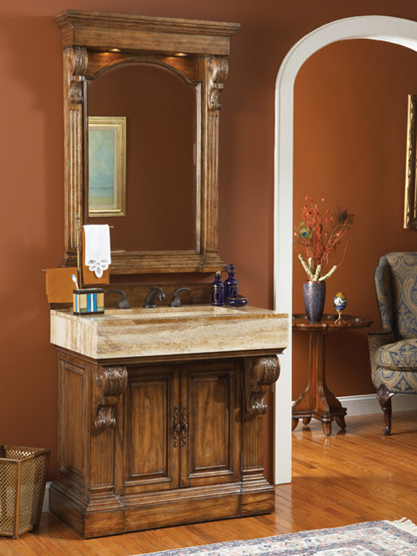 Shown with matching Paolo Vanity