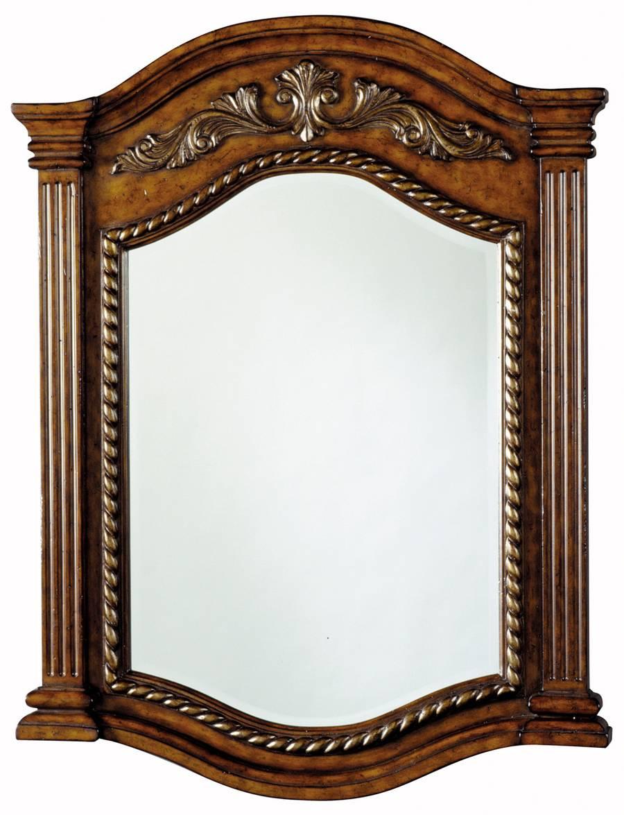Demilune Vanity Mirror