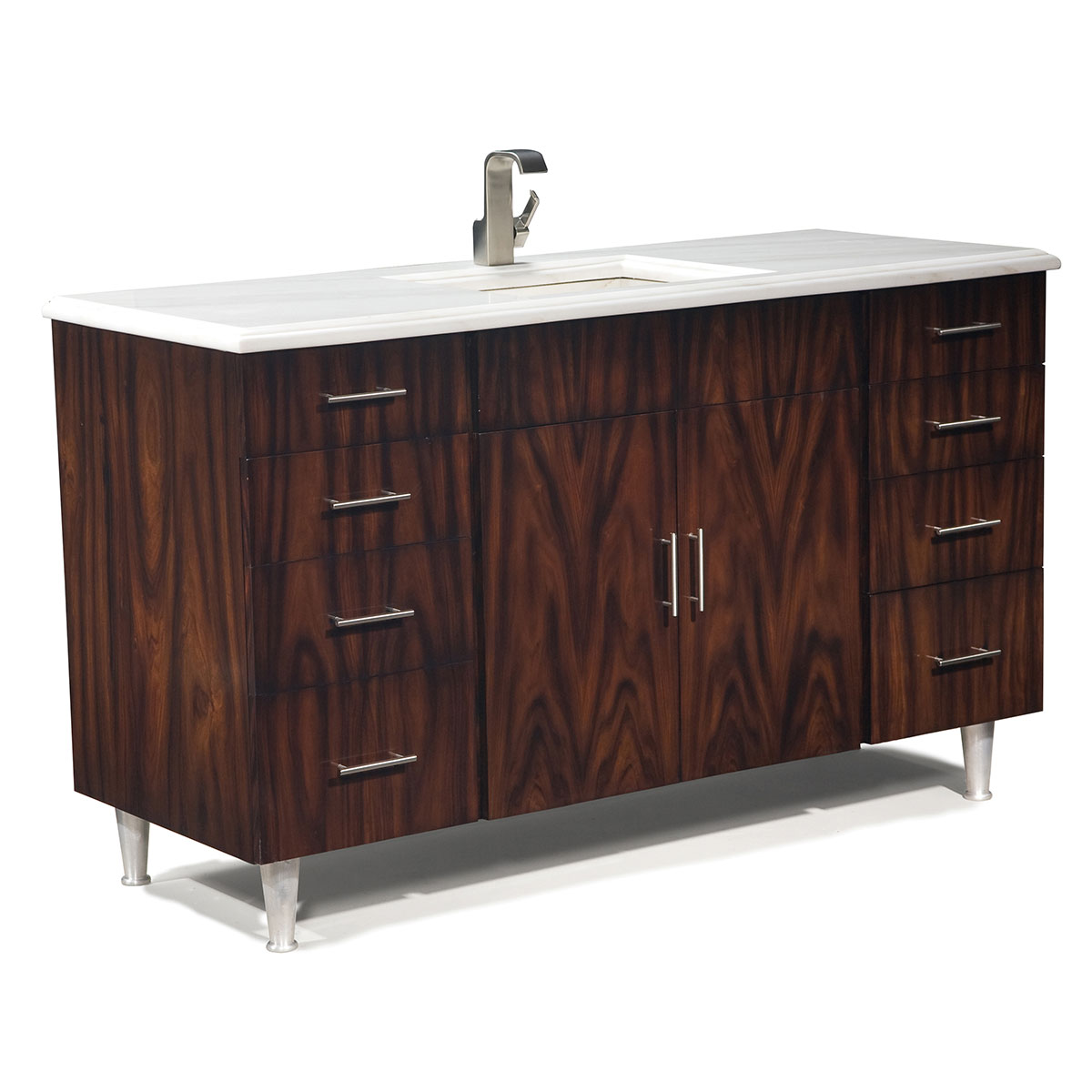"60"" Moderne Single Bath Vanity"