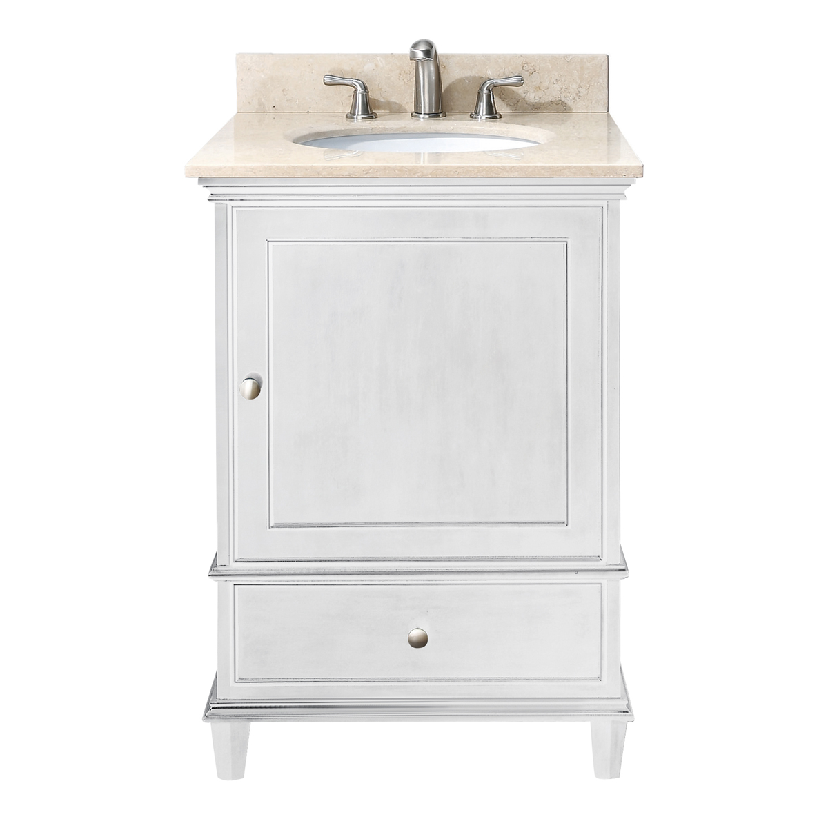 "25"" Cesarina Single Vanity in White"