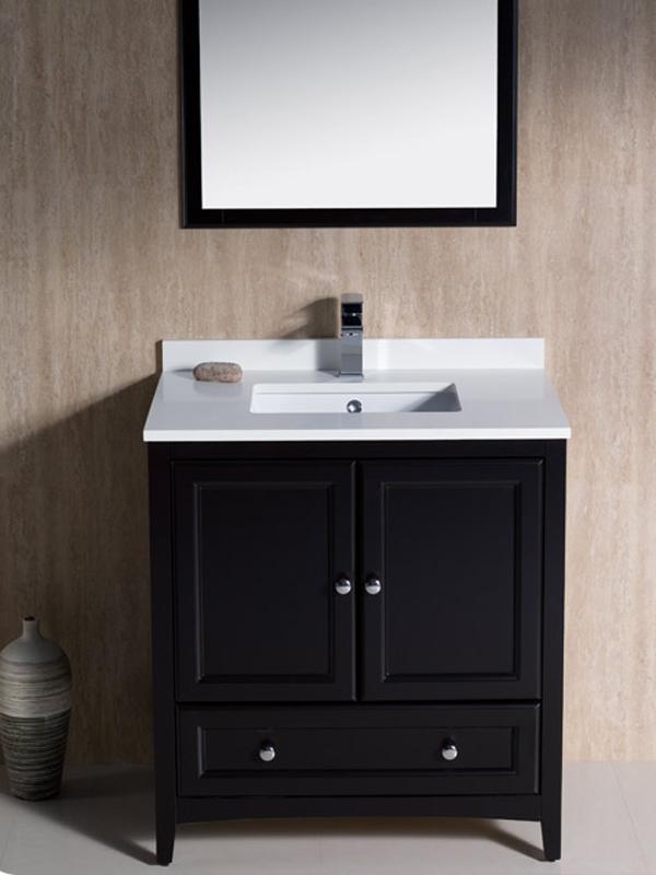 "30 Bathroom Vanity With Top: 30"" Oxford Single Bath Vanity"