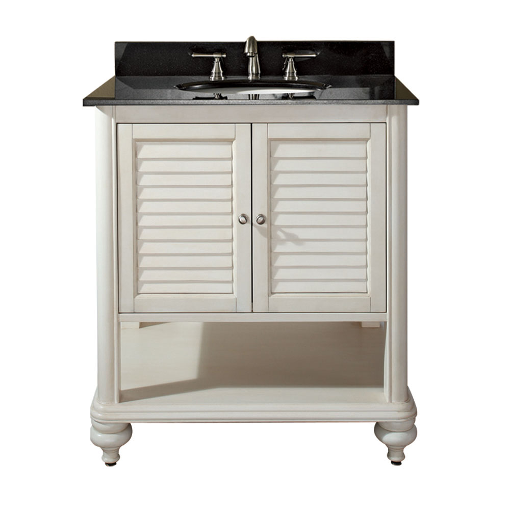 "30"" Treviso Vanity in Antique White"