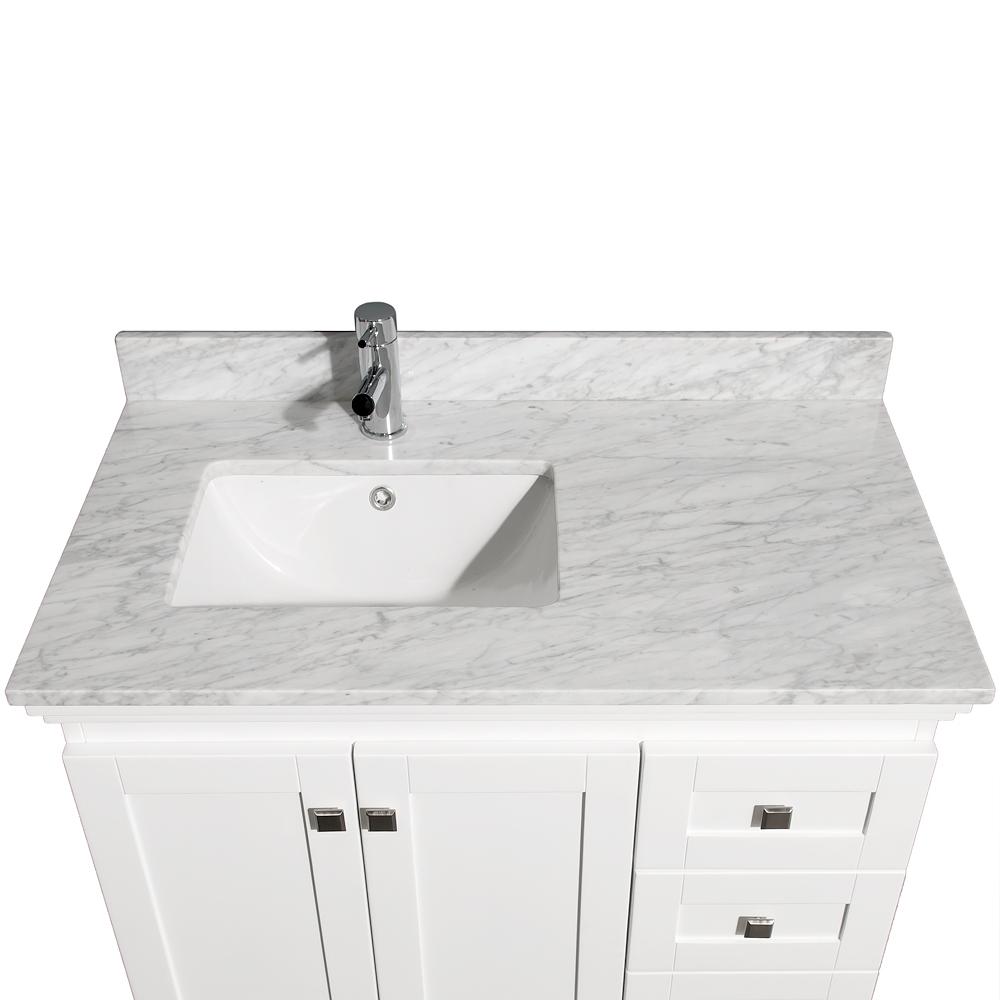 White Bathroom Vanities 36 Inch beautiful 36 bathroom vanity with sink pictures - best image 3d