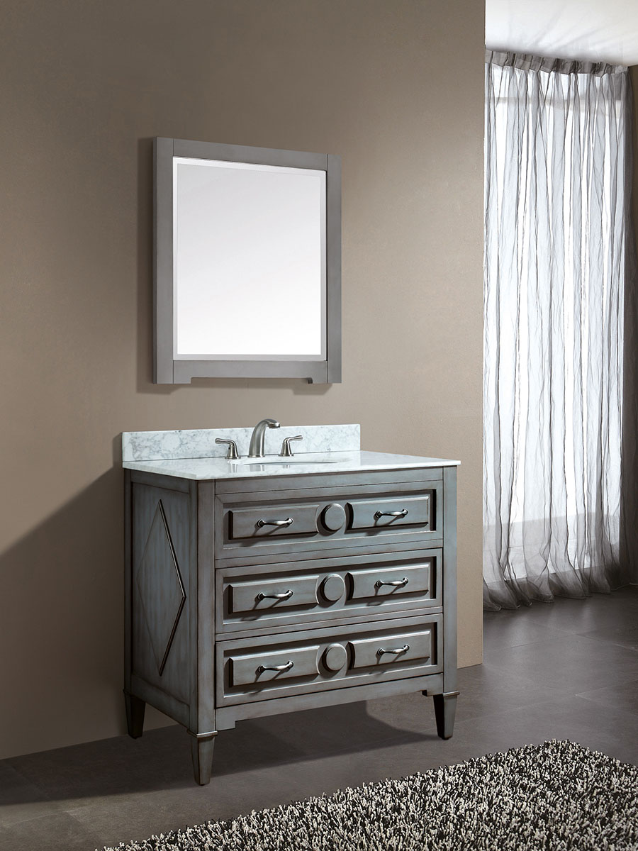 "36"" Worotan Single Bath Vanity"