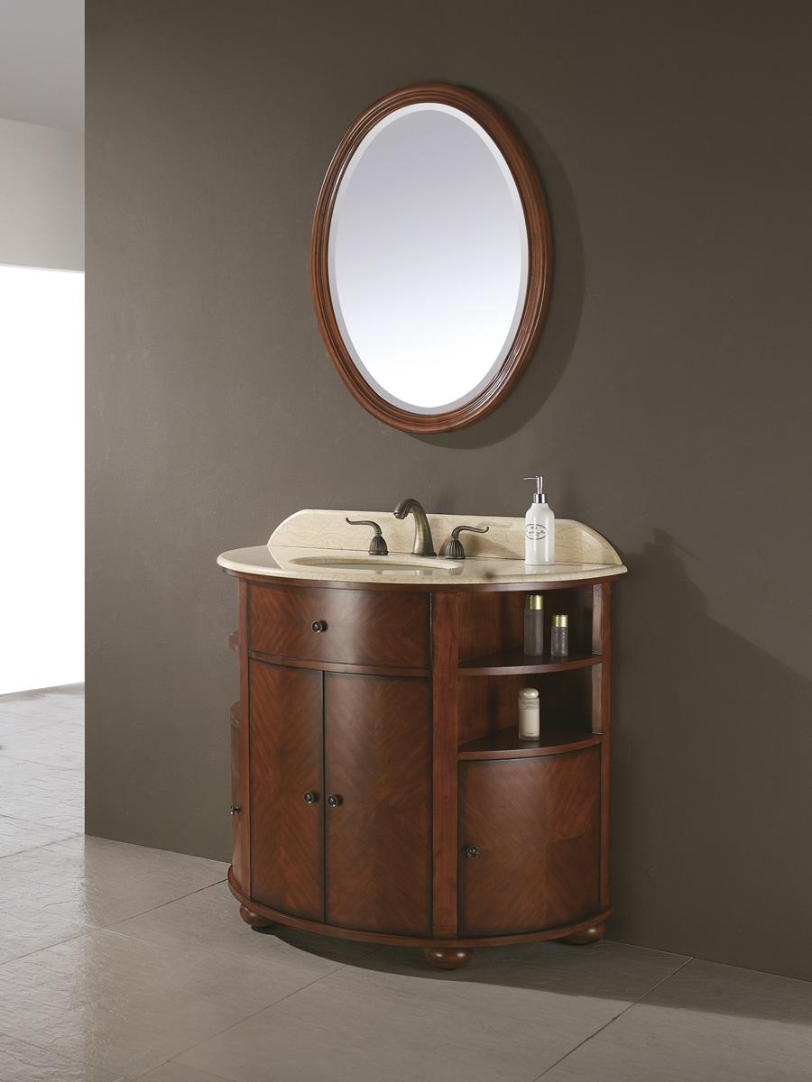 "38"" Belcastro Single Vanity - With optional mirror"