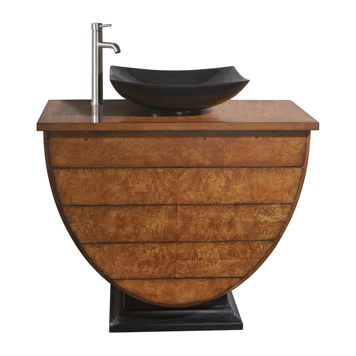 Single Vessel Sink Bathroom Vanity 40 Imperia Single Vessel Sink Vanity Bathgemscom