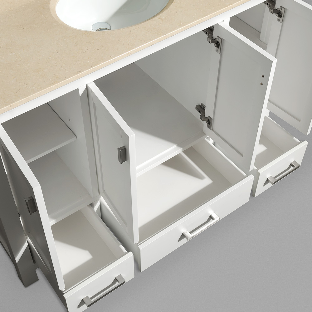 Soft-Closing Mechanisms On All Drawers/Doors