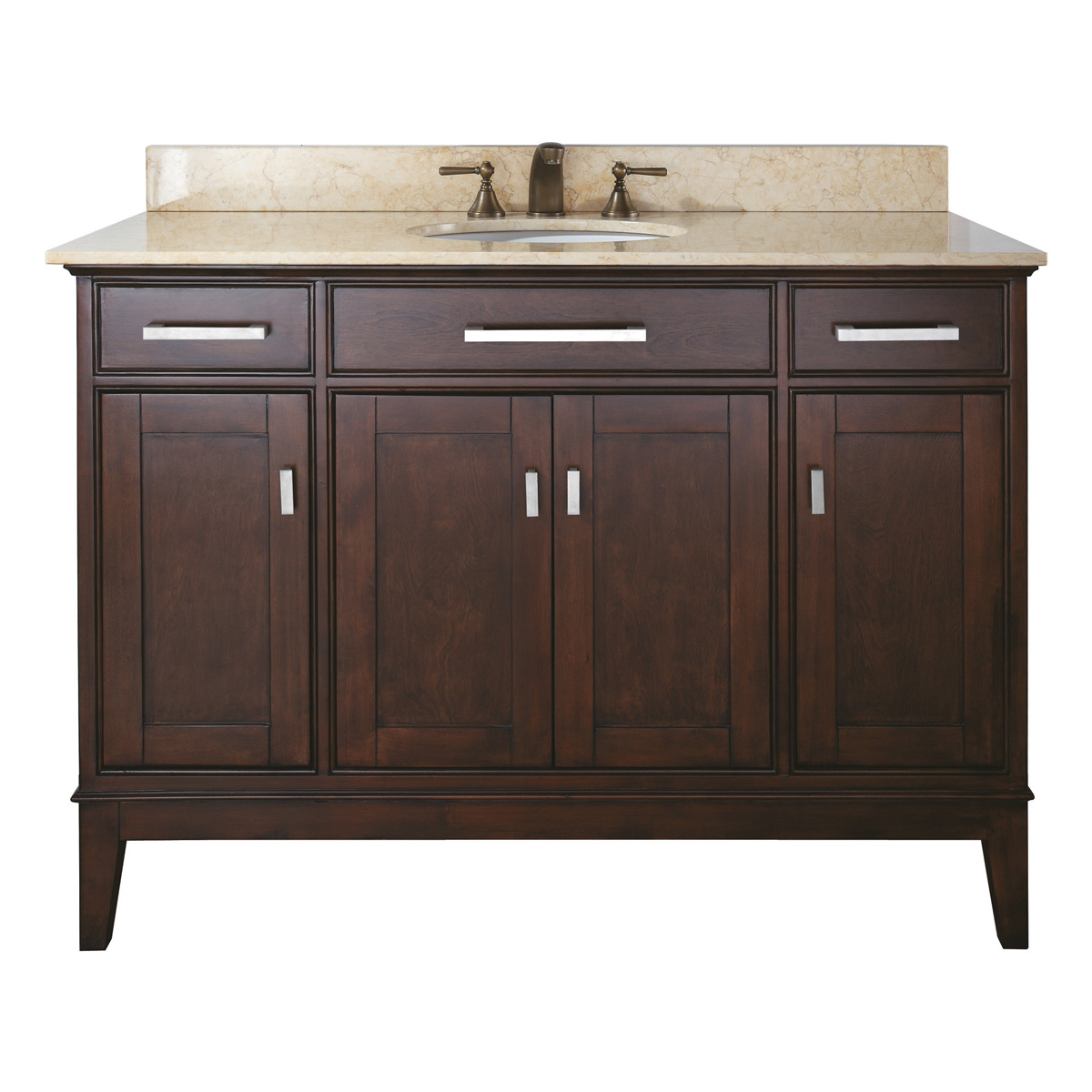 "48"" Marciana Vanity in Light Espresso"