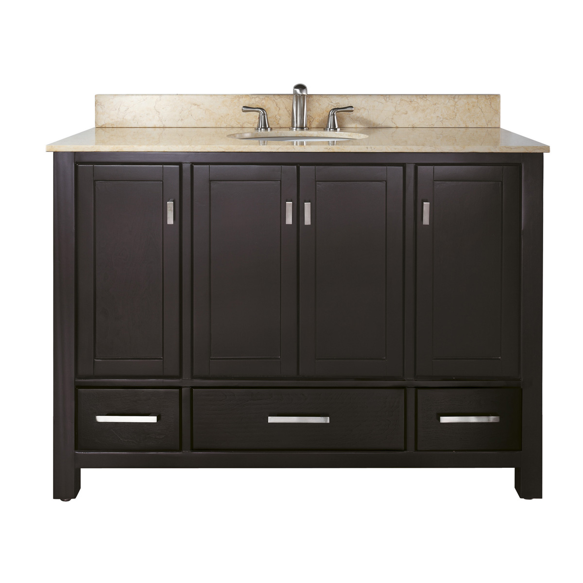"48"" Toscana Wide Single Vanity in Espresso"