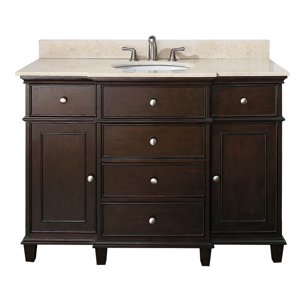 "49"" Cesarina Single Vanity in Walnut"