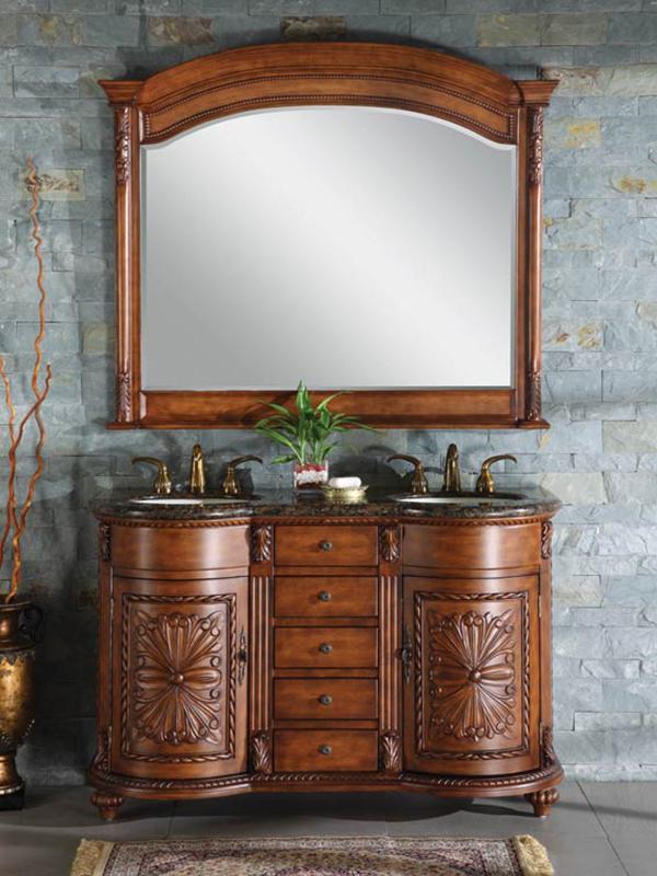 """54"""" Zikas Double Sink Vanity"""
