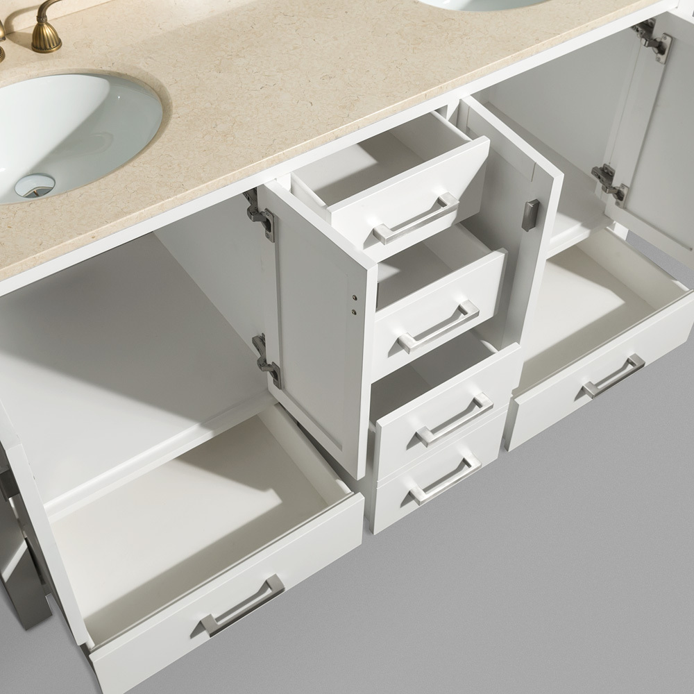 Soft-Closing Mechanism on all Drawers and Cabinet Doors
