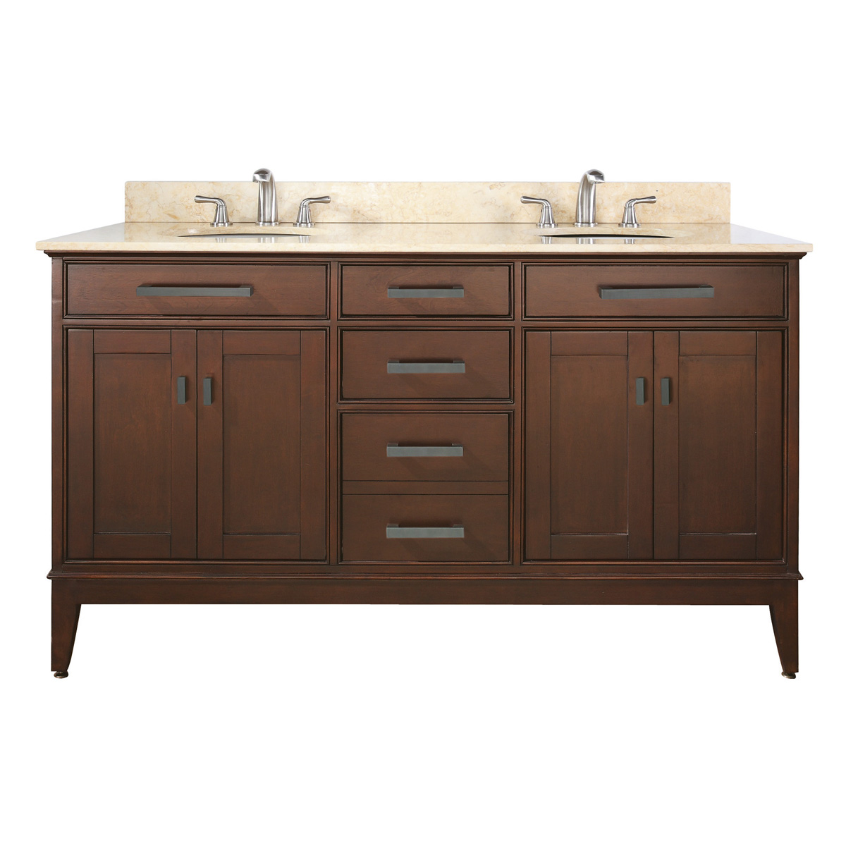 "60"" Marciana Double Vanity in Tobacco"