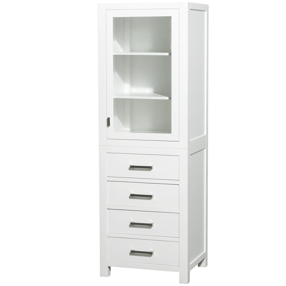 bathroom zenna shelf tower linen s igetfit white online home cabinet