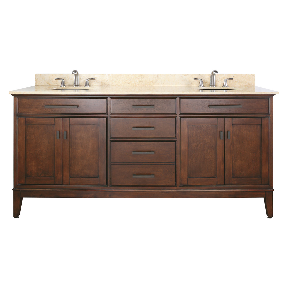 "72"" Marciana Double Vanity in Tobacco"