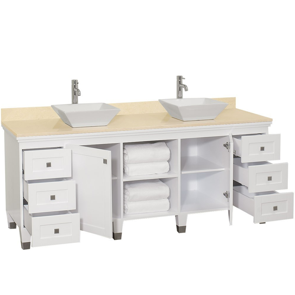Two Single-Door Cabinets And Six Drawers