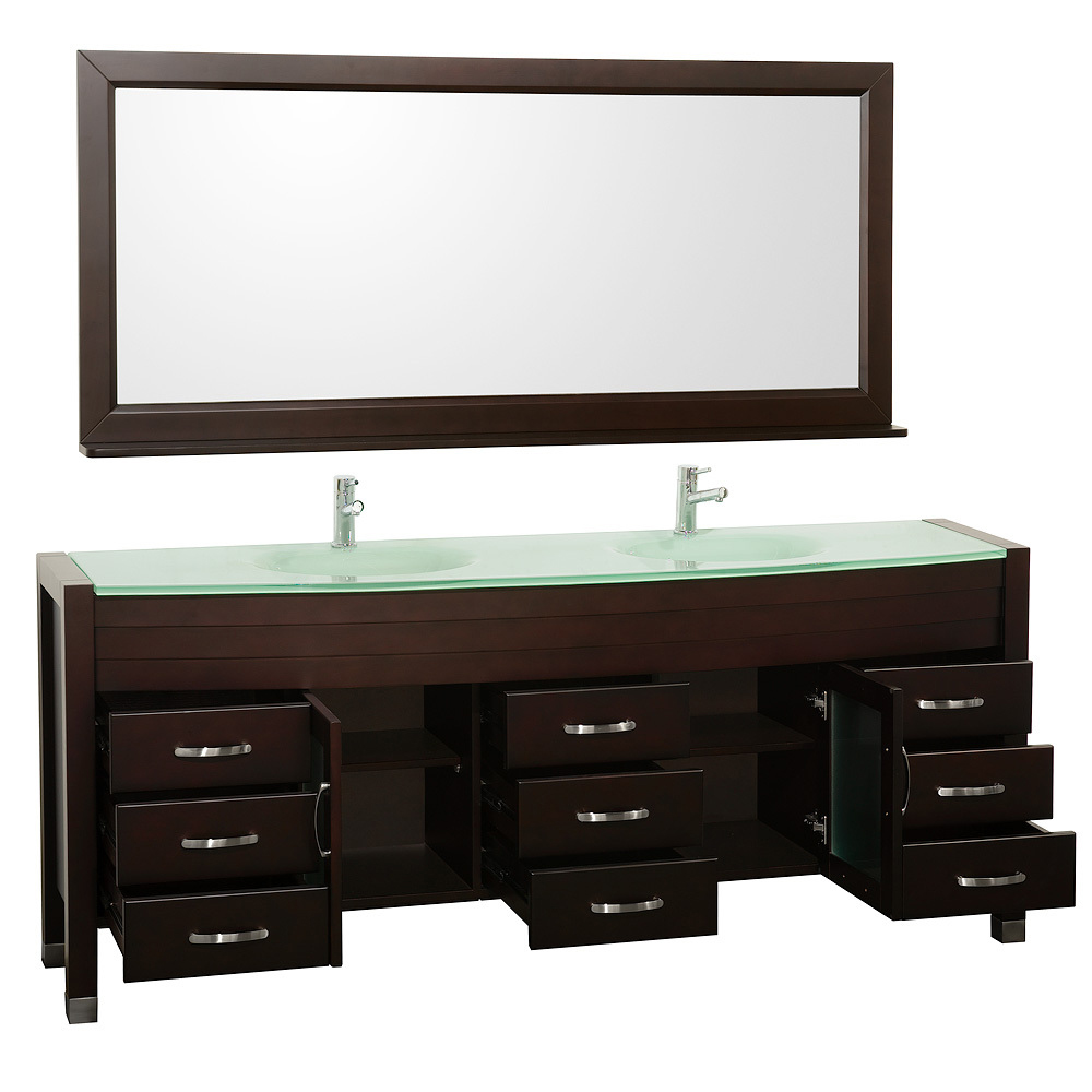 78 daytona double sink vanity espresso for 78 double sink bathroom vanity