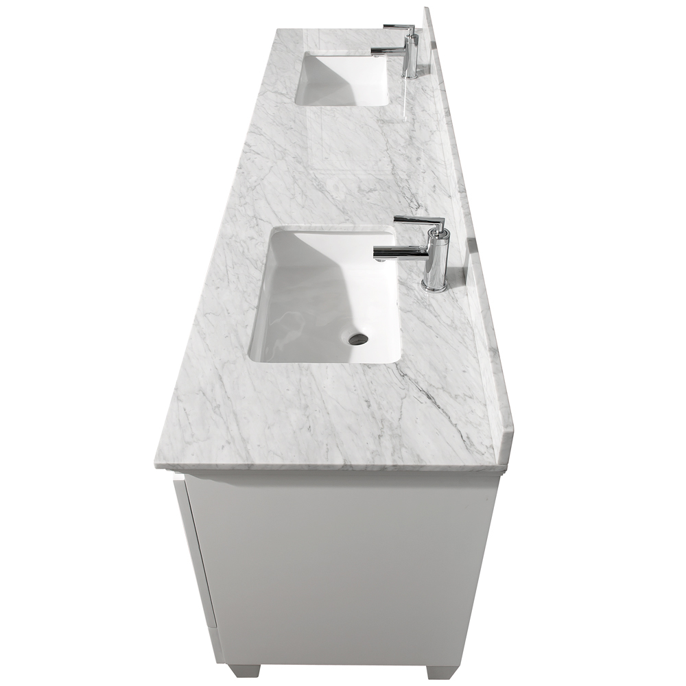Rectangular Shaped Porcelain Undermount Sinks