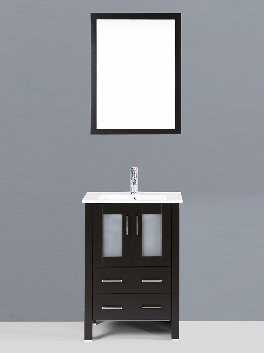 Alpert Single Vanity with Undermount Sink