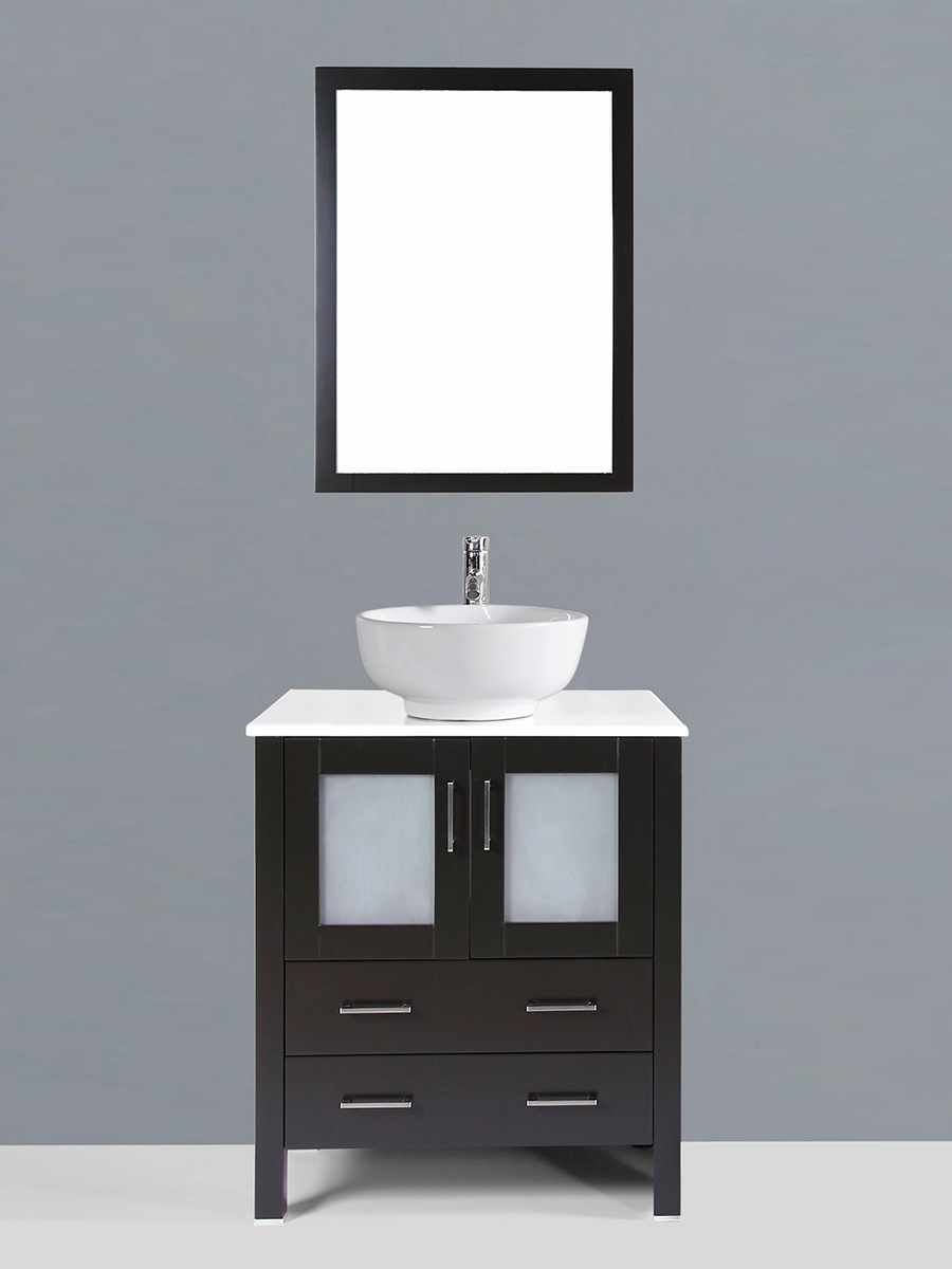 Widmore Single Vanity with Round Sink