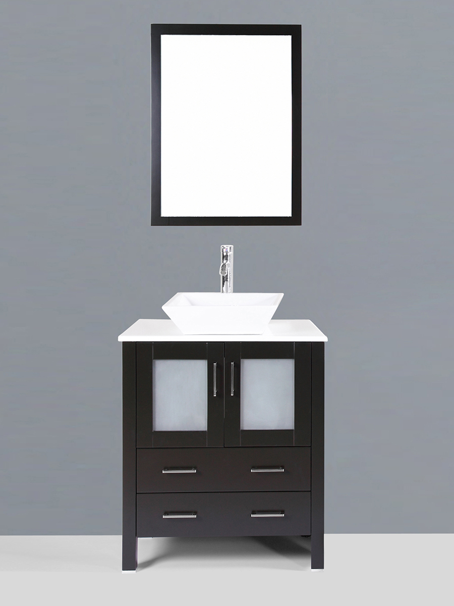 Widmore Single Vanity with Angled Sink