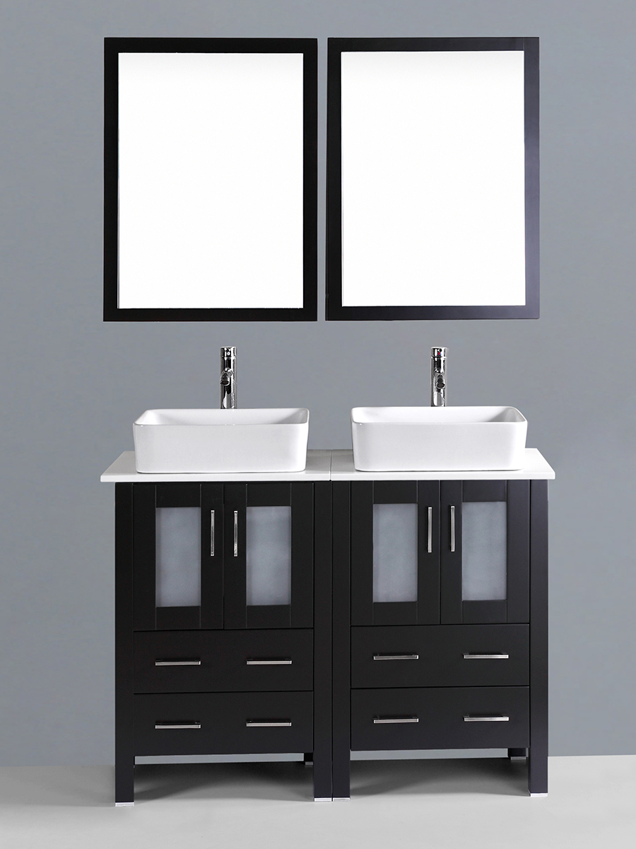 Dawson Double Vanity with Square Sinks