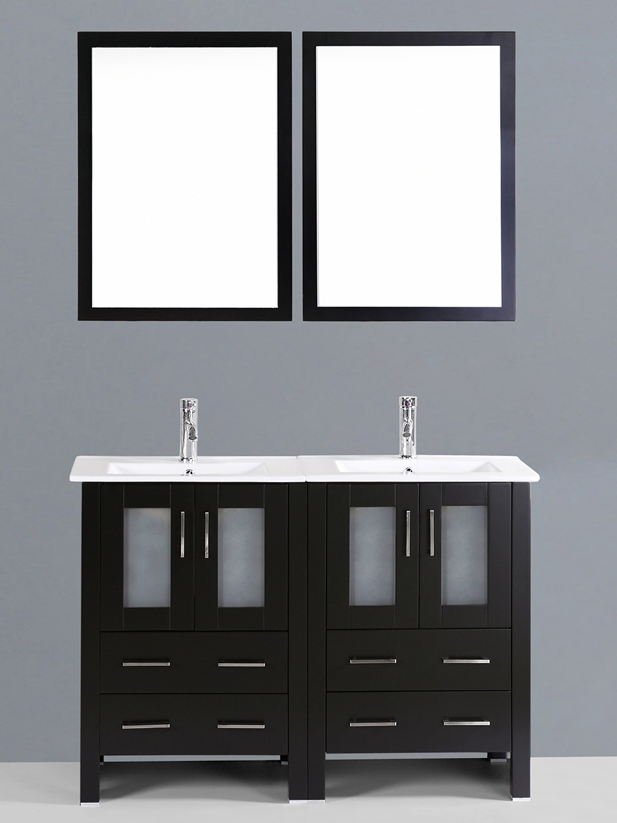 Dawson Double Vanity with Undermount Sinks