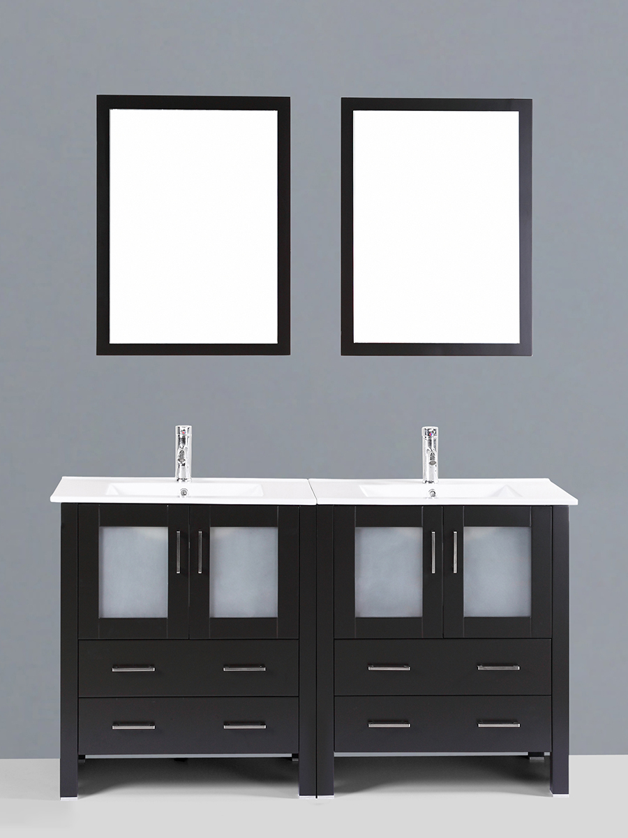 Carlyle Double Vanity with Undermount Sinks
