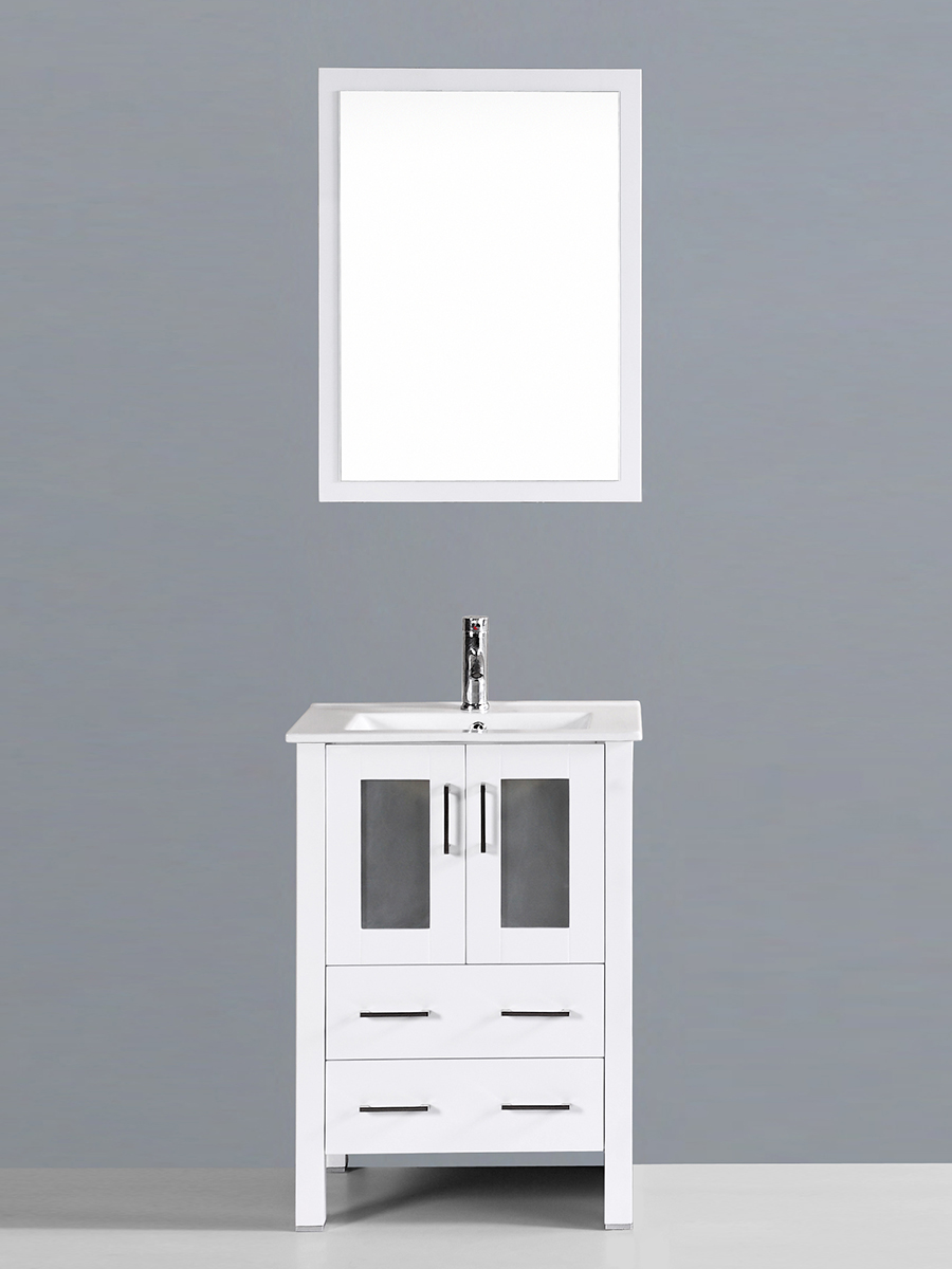 Aria Single Vanity with Undermount Sink