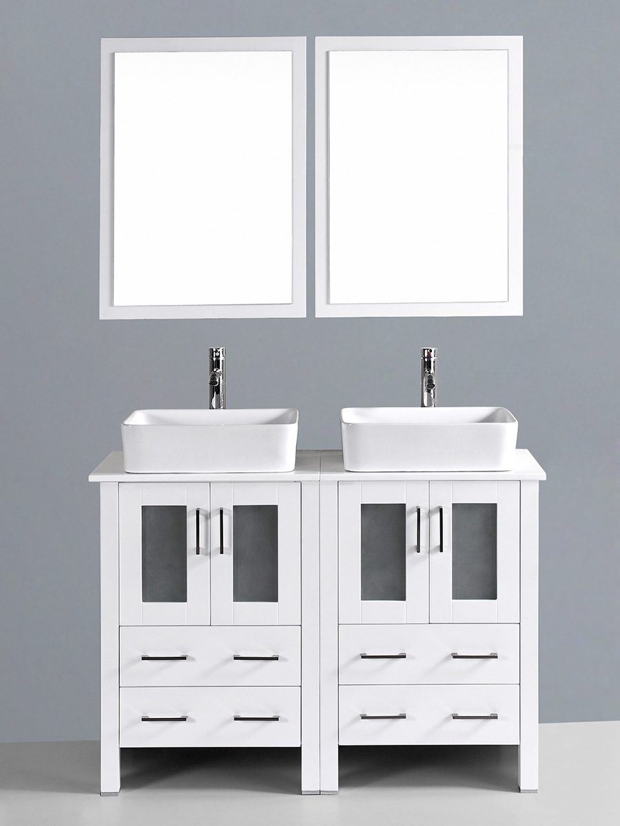 Fields Vanity with Square Sinks