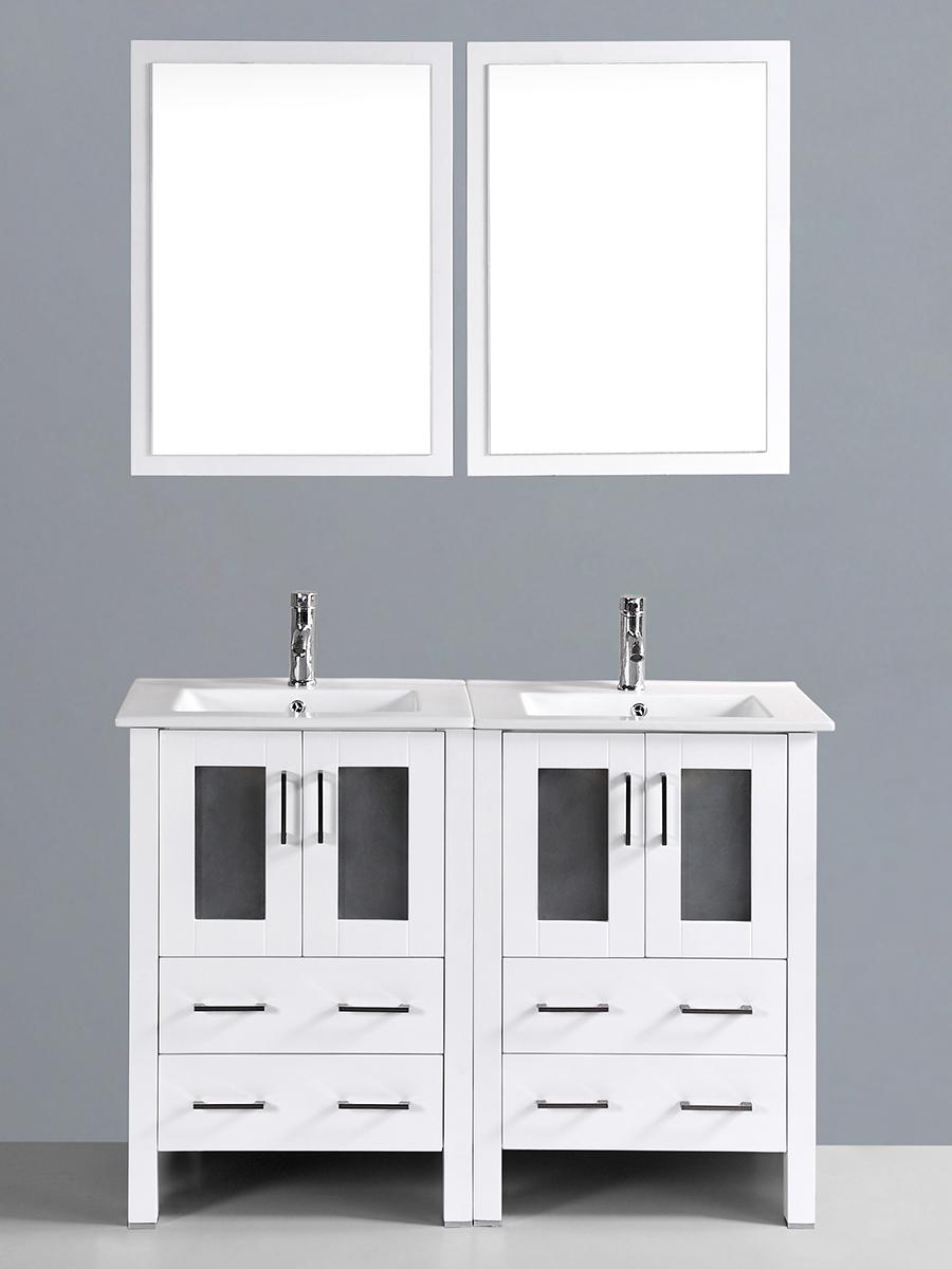 Fields Vanity with Undermount Sinks